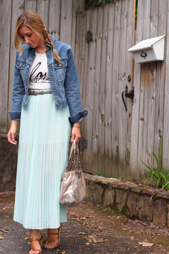 pleated maxi skirt, pleated maxi, pleated skirt, crop top and skirt